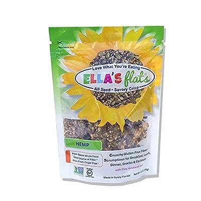 Amazon - 6% Off on ll Seed Savory Crisps – HEMP (NetWt 6oz Resealable Bag) – 3 PACK – Gluten Free, Sugar Free, Grain Free