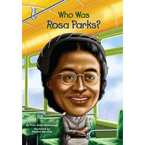 Who Was Rosa Parks? audiobook cover art