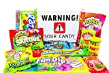 Super Sour Candy Assortment with Sour Straws, Belts, Candies for Adults and Children~ Jr