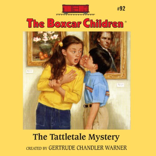 The Tattletale Mystery audiobook cover art