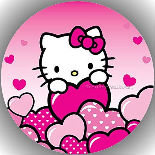 Fondant Tortenaufleger Tortenbild Geburtstag Hello Kitty T26
