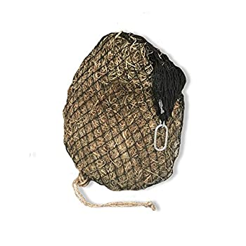 hay chix Slow Feed Hay Net for [Horse and Livestock Health hay Feeder hay net Slow Feed hay net] Save Your time hay and Money! Half Bale Net  1 3/4  Original