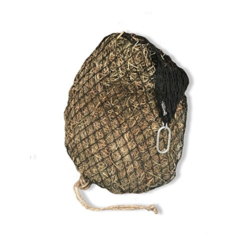 """hay chix Slow Feed Hay Net for [Horse and Livestock Health, hay Feeder, hay net, Slow Feed hay net] Save Your time, hay and Money! Half Bale Net (1 3/4"""" Original)"""