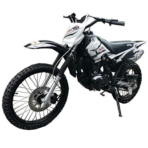 "X-PRO Hawk 150cc Adults Dirt Bike Pit Bike Youth Dirt Pit Bike Dirt Bike Dirt Pitbike,Big 19""/16"" Wheels-Black"