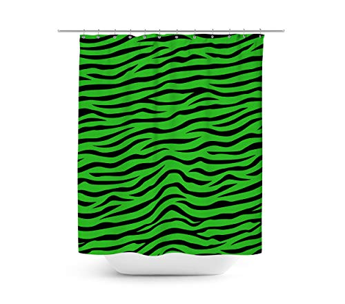 Queen of Cases Zebra Print - Duschvorhang in 4 Größen
