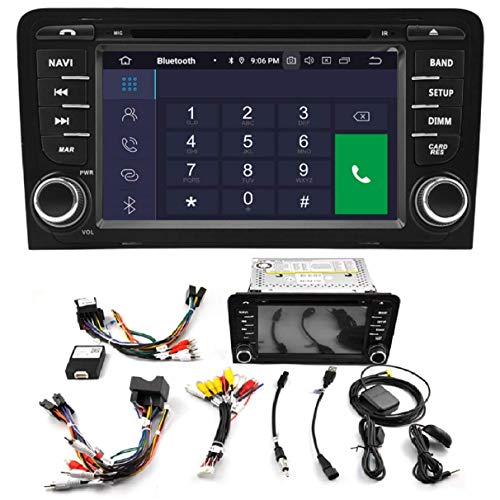 KASANDROID Android 10.0 Radio kasandroid es Compatible con Audi A3/S3/RS3 (2003-2012) Quad...