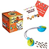 Dog Chew Suction Cup Toy - Teething and Molar Bite, Tug of War for Boredom, Rope with Ball, Interactive Puppy Puzzle Traning for Aggressive Chewers, Treats, Food Dispensing Pet Toothbrush Squeaky Toy