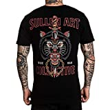 Sullen Men's Wolf Dagger Premium Short Sleeve T Shirt Black M