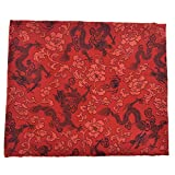 Kesheng Chinesischer Drache Brokat Stoff 50 cm x 75 cm für