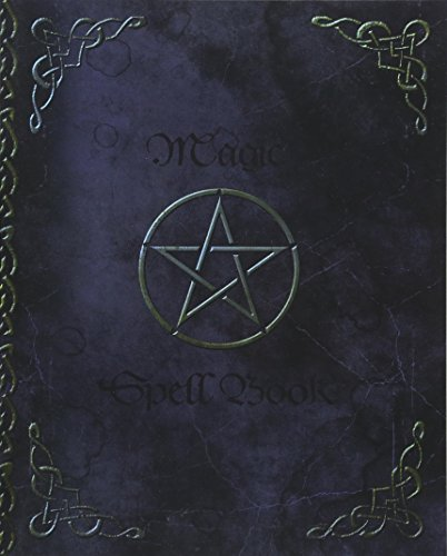 Magic Spell Book: of Shadows   Grimoire ( Gifts ) [ 90 Blank Attractive Spells Records & more * Paperback Notebook   Journal * Large * Pentacle ] (Magick Gifts)