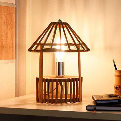 Yilingqi-1 Creatieve handgemaakte bamboe tafellamp wikkelaar rotan bamboe decoratieve lamp Beste huis warm cadeau
