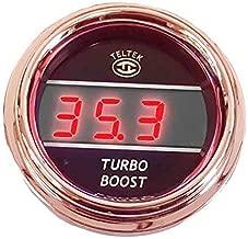 Red Digital Turbo Boost Gauge Fits Kenworth
