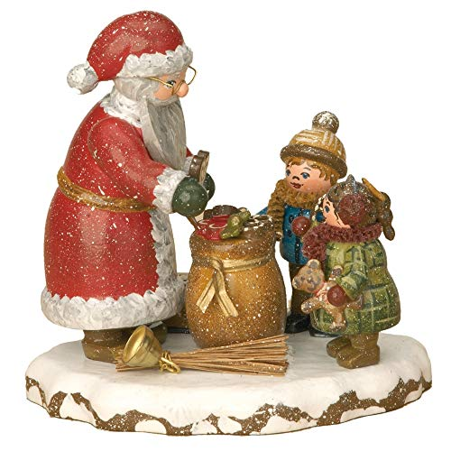 Hubrig Volkskunst Winterkinder Danke, lieber Weihnachtsmann * Höhe 9cm