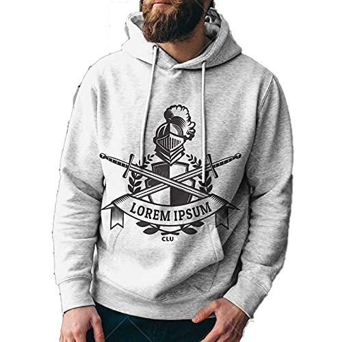 SSBZYES Sudaderas para Hombres Sudaderas con Capucha para Hombres Otoño E Invierno Tops Casuales Jersey De Moda Suéter Pareja Sudaderas con Capucha De Moda