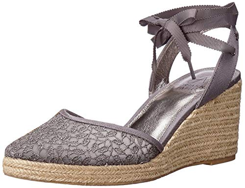 Adrianna Papell Pamela Pewter Valencia Lace 10