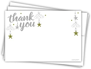 Best moon and stars thank you cards Reviews