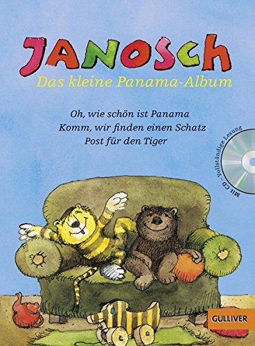 Das kleine Panama-Album: Der kleine Bär und der kleine Tiger und ihre Abenteuer. Mit Hör-CD, vollständige Lesung