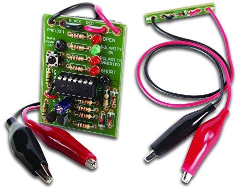 Velleman MK132 Cable Polarity Checker Mini Kit, Multi-Colour