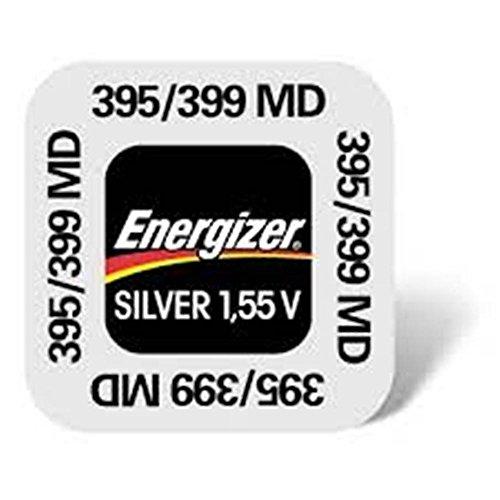 ENERGIZER 395/399 Lot de deux piles 1.55V silver oxide