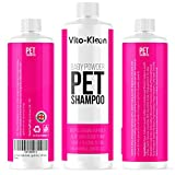 Baby Powder Dog Shampoo & Conditioner In One |Professional Grooming | 450ML| Conditioning & Aloe Extracts Prevent Dandruff | Extra Mild For Daily Use | For Smelly, Itchy, Dogs & Pets | UK Made