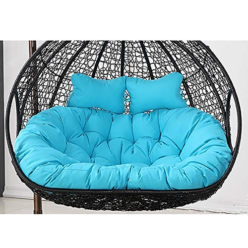 ZAIPP Hanging Basket Chair Cushions,Double Waterproof Swing Chair Cushion,Hanging Egg Hammock Chair Cushions,OVERSIZED...