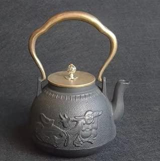Cast Iron Teapot Argon Tableware Japanese Tetsubin Health Pot Kung Fu Tea Set