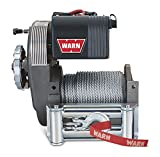 2006 dodge ram 1500 winch bumper - WARN 38631 M8274-50 Electric 12V Winch with Steel Cable Wire Rope: 5/16