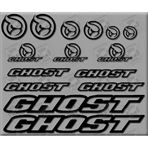 MTB Ghost Stickers Decals AUFKLEBER Pegatinas AUTOCOLLANT Full Color