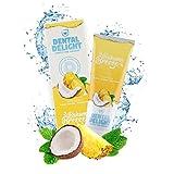 DENTAL DELIGHT Bahama Breeze | fruchtige Zahnpasta Ananas-Kokos Geschmack | klimaneutral ohne Mikroplastik