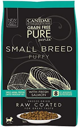 Canidae Pure Petite Raw Coated Puppy Salmon 10Lb product image