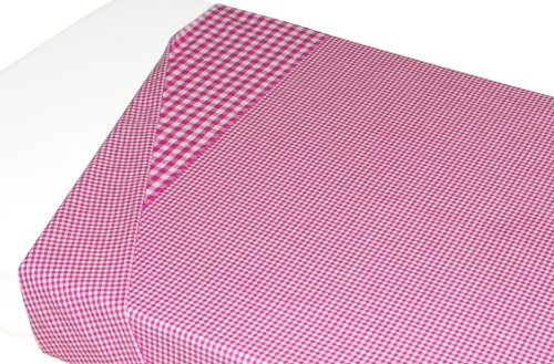 TAFTAN LA-359 gewebtes karierter Baumwolle Überschlaglaken, 120 x 150 cm, in 14 farben verfügbar