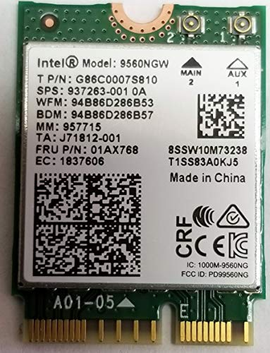Intel Wireless-Ac 9560 - Tarjeta de red