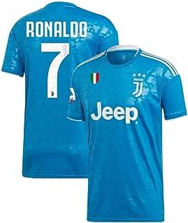FC Kits Juventus 2019/2020 Ronaldo #7 Third Away Jersey Men's