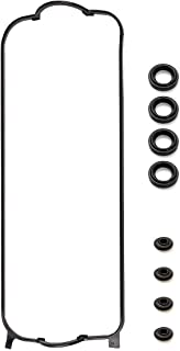 Vincos Valve Cover Gasket Set With Spark Plug Tube Seals and Grommets Replacement For Acura Honda Isuzu CL Accord Odyssey Oasis 2.3L 2.2L L4 Engine F22B1 F23A1 F23A4 F23A5 F23A7 1994-2002