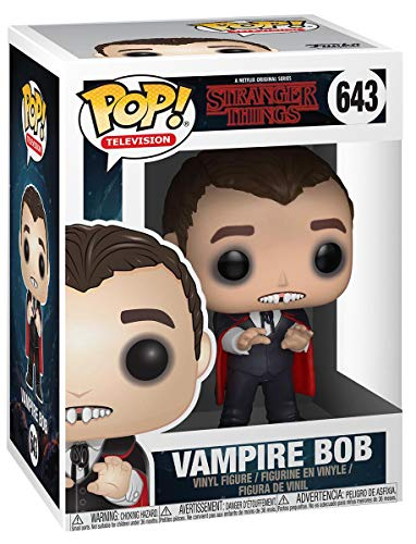 Funko- Figuras Pop Vinyl: Stranger Things: Vampire Bob (Exc), 31023, Multi