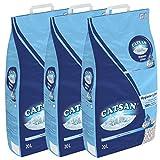 MALTBYS Catsan Litière pour Chat 60 litres (3 x 20 litres)