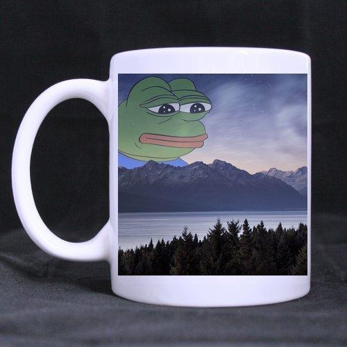 Rare pepe sad frog lanscape coffee Mug