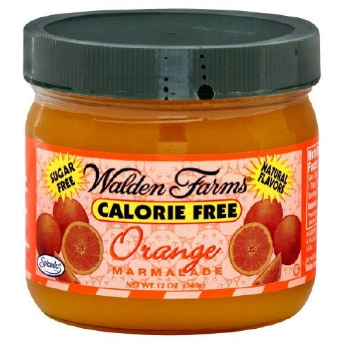 Orange Marmalade Fruit Spread 12 Ounces (Case of 6) by Walden Farms
