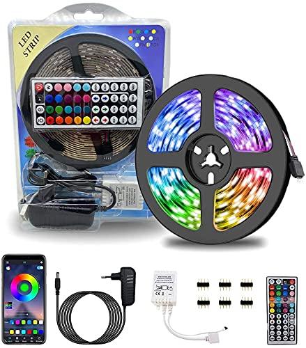 i-Paint - Tira de luces LED Emotional Lighting Design multicolor, 10 m, IP65, impermeable, para interior y exterior, tira de LED ajustable desde el mando a distancia Bluetooh,