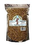 Wormyworms Dried River Shrimp for Reptiles Amphibians Fish Birds Poultry Mammals etc (1 LB)
