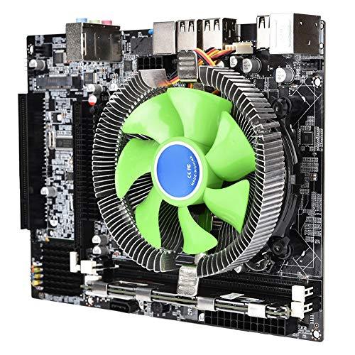 Tangxi Kit Scheda Madre PC Desktop, Scheda Madre X58 + CPU 2,66 GHz per Intel Xeon X5650 + 8G DDR3 1333 MHz di Memoria + 2500 Giri/min Set Scheda Madre del Computer Ventola di Raffreddamento