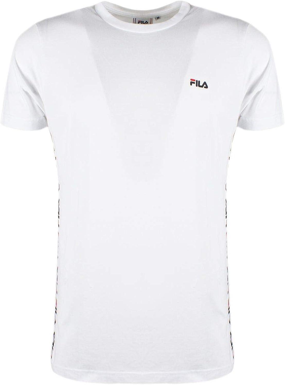 Fila Men's 682362M67 White Cotton T-Shirt