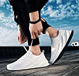 Amico Casual Sneaker Shark Shoes for Mens White