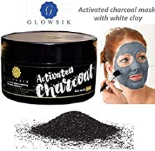 Glowsik Activated Charcoal with White Clay Face Mask - 200 g