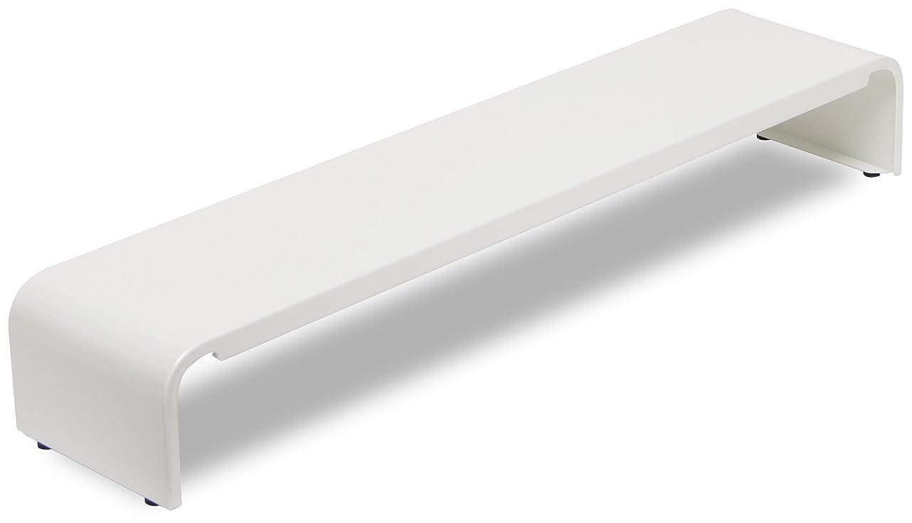 対人狂気独立した田窪工業所 パソコン小物ラック 幅54cm ホワイト PCK-54WM