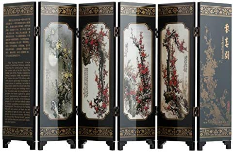 Chinese screen room divider _image0