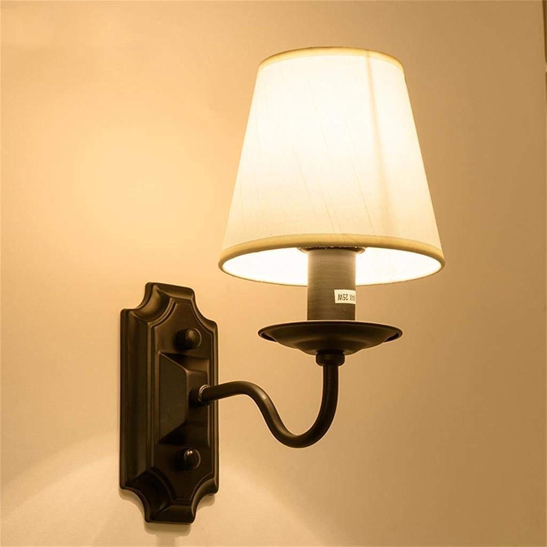 Oudan Pastorale American Irons Single Head Wandleuchte, Nachttischlampe Spiegel vor Lichter Strae ist offensichtlich, (Farbe   -, Gre   -)