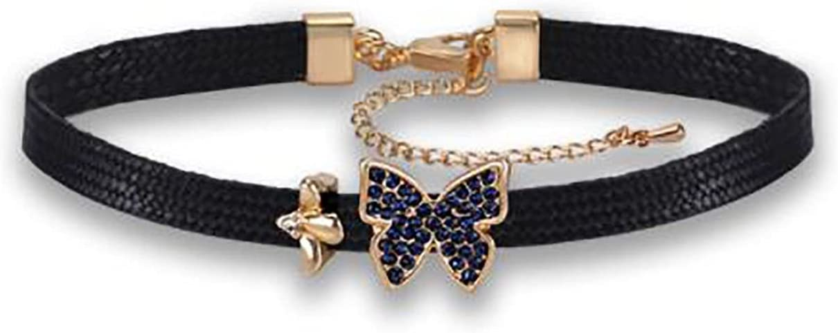 Clavicle Chain Butterfly Necklace Choker Collar For Women