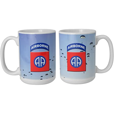 82nd Airborne Division Color Coffee Mug