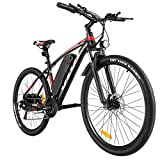 VIVI Electric Bike, 27.5' Electric Mountain Bike/Electric Bicycle 350W Ebike, Electric Bikes for Adults with Large Capacity Removable 10.4Ah Lithium-ion Battery, Shimano 21 Speed